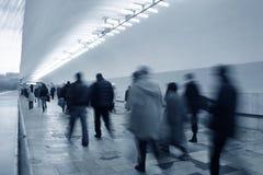 Untergrundbahnmasse Stockfotos