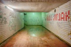 Untergrundbahntunnel Stockfotografie