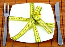 Unterhalt auf einem Diet_1 Lizenzfreie Stockbilder