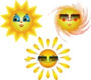Unterhaltende Bilder der Sonne Stockbild