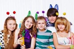 Unterhaltung der jungen Leute Lizenzfreie Stockfotos