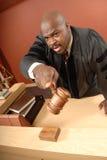 Unterhaltung mit dem Gericht Stockbilder