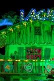 Unterhaltungs-Dekoration beim Oktoberfest Stockfotografie