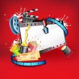 Unterhaltungs-Hintergrund Lizenzfreies Stockfoto