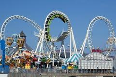 Unterhaltungs-Pier Stockbild