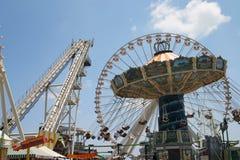 Unterhaltungs-Pier Stockfotos