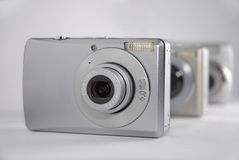 Unterhaltungselektronik: Kameras Lizenzfreie Stockbilder