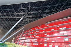 Unterhaltungszentrum-Ferrari-Welt in Abu Dhabi Lizenzfreies Stockbild