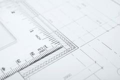 Unterlagen für Gebäude lizenzfreie stockfotos