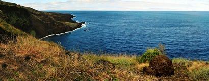Unterlassung der Küstenlinie Lizenzfreies Stockbild