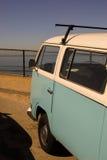 Unterlassung des Pazifischen Ozeans in Karlsbad, Kalifornien Lizenzfreie Stockfotografie