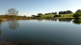 Unterlassung des Teichs stockfotos