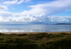 Unterlassungsmumbles-Bucht von Swansea-Jachthafen Lizenzfreies Stockfoto