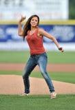 Unterliga-Baseball 2012 Stockfotografie