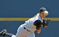 Unterliga-Baseballtätigkeit 2012 Stockfotos