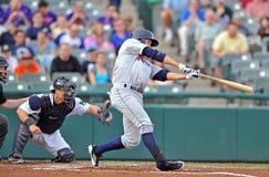 Unterliga-Baseballtätigkeit 2012 Lizenzfreies Stockbild