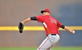 Unterliga-Baseballtätigkeit 2012 Stockfoto
