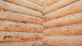Unterminated budynek ściany Kanadyjski kąta kamieniarstwo Kanadyjczyka styl Drewniany dom robić bele zbiory