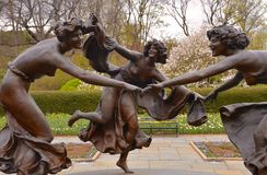Untermyer fontanna, Manhattan, NYC Fotografia Royalty Free