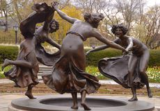 Untermyer fontanna, Manhattan, NYC Obraz Royalty Free