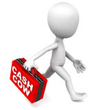 Unternehmen- mit hoher Liquiditätsreservekonzept Stockbild