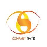 Unternehmen schneiden Logoschablone Lizenzfreie Stockfotografie