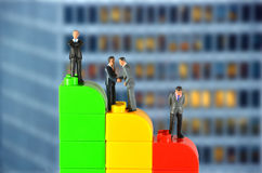 Unternehmensübernahme Lizenzfreie Stockfotos