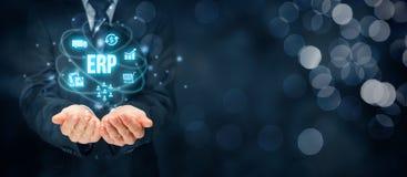 Unternehmens-Hilfsmittel-Planung ERP Stockfotografie