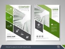 Unternehmens- und Geschäftsbroschürenschablonen Lizenzfreie Stockbilder