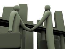 Unternehmensabkommen #2 Lizenzfreie Abbildung