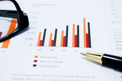 Unternehmensanalyse Stockbilder