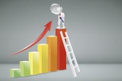 Unternehmensanalysekonzept Stockfoto