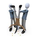 Unternehmensdiebstahl Lizenzfreies Stockfoto