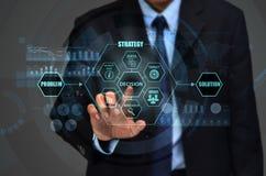 Unternehmensentscheidungs-Konzept Lizenzfreie Stockfotos