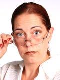 Unternehmensfrau Stockfoto