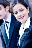 Unternehmensfrau stockbild