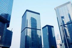 Unternehmensgebäude in Hong Kong stockfoto