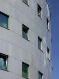 Unternehmensgebäudefenster Stockfotografie