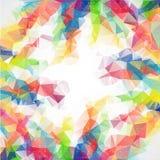 Unternehmenshintergrund des abstrakten Dreiecks des Geschäfts lizenzfreie abbildung