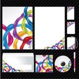Unternehmensidentitä5sschablone Stockbilder