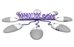 UnternehmensInternet Lizenzfreie Stockbilder