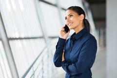 Unternehmensleiteranruf lizenzfreies stockbild