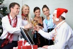 Unternehmensparty Lizenzfreies Stockfoto