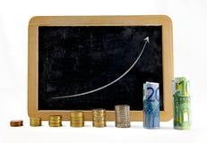 Unternehmensplan Stockfoto