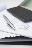 Unternehmensplan Stockfotos