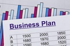 Unternehmensplan einer permanenten Einrichtung Lizenzfreie Stockfotografie