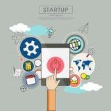 Unternehmensplan für beginnen oben Lizenzfreie Stockfotos