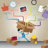 Unternehmensplan und kreatives Team Stockfotografie