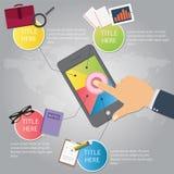 Unternehmensplan und kreatives Team Stockfotos