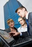 Unternehmensplanung Stockfoto